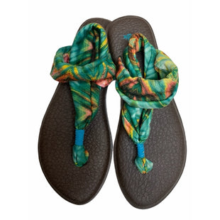 Primary Photo - BRAND: SANUK STYLE: SANDALS LOW COLOR: TROPICAL SIZE: 7 SKU: 299-29929-54329