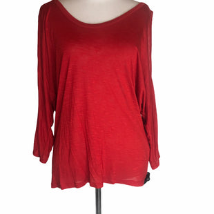 Primary Photo - BRAND: BEBE STYLE: TOP LONG SLEEVE COLOR: RED SIZE: M SKU: 299-29929-48105