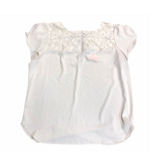 Primary Photo - BRAND: ANN TAYLOR LOFT STYLE: TOP SHORT SLEEVE COLOR: OFF WHITE SIZE: XL SKU: 299-29929-56251