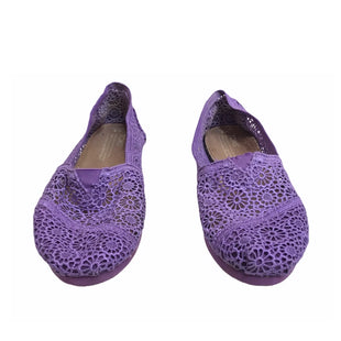 Primary Photo - BRAND: TOMS STYLE: SHOES FLATS COLOR: PURPLE SIZE: 8 SKU: 299-29929-55601