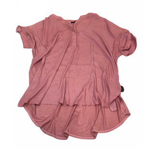 Primary Photo - BRAND: LANE BRYANT STYLE: TUNIC SHORT SLEEVE COLOR: DUSTY PINK SIZE: 18 OTHER INFO: 18/20 SKU: 299-29929-58061