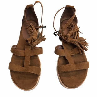 Primary Photo - BRAND: MOSSIMO STYLE: SANDALS LOW COLOR: CAMEL SIZE: 7 SKU: 299-29929-59832