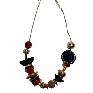 Primary Photo - BRAND: CHICOS STYLE: NECKLACE COLOR: BLACK RED SKU: 299-29929-52129