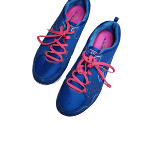 Primary Photo - BRAND: SKECHERS STYLE: SHOES ATHLETIC COLOR: BLUE SIZE: 10 SKU: 299-29929-56859