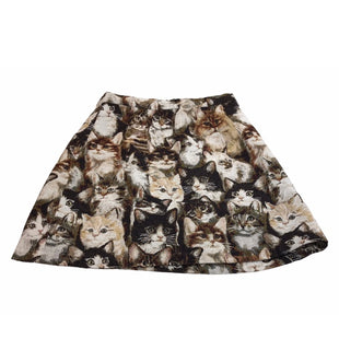 Primary Photo - BRAND: MODCLOTH STYLE: SKIRT COLOR: ANIMAL PRINT SIZE: L SKU: 299-29929-58696