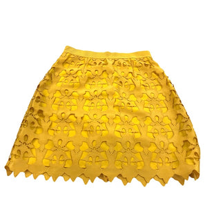 Primary Photo - BRAND: ANN TAYLOR LOFT STYLE: SKIRT COLOR: MUSTARD SIZE: 4 SKU: 299-29929-56365