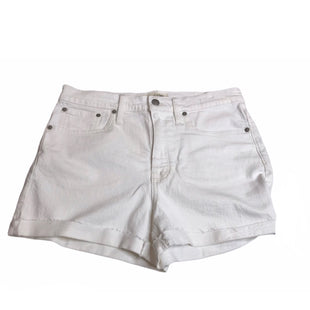 Primary Photo - BRAND: MADEWELL STYLE: SHORTS COLOR: DENIM WHITE SIZE: 6 OTHER INFO: NEW! SKU: 299-29929-56837