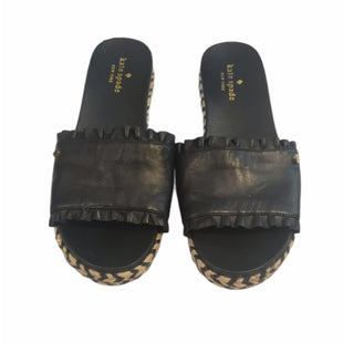 Primary Photo - BRAND: KATE SPADE STYLE: SANDALS LOW COLOR: BLACK SIZE: 7 SKU: 299-29929-60363