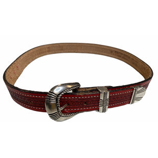 Primary Photo - BRAND:    BRUSHY CREEKSTYLE: BELT COLOR: RED /LEATHERSIZE: L OTHER INFO: BELT - SKU: 299-29929-56408