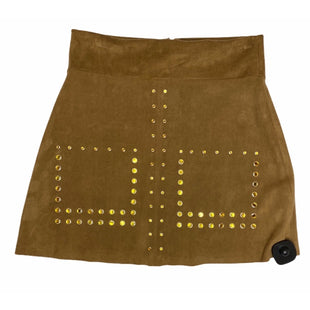 Primary Photo - BRAND: ZARA BASIC STYLE: SKIRT COLOR: TAN SIZE: S OTHER INFO: NEW WITH TAGS SKU: 299-29974-905