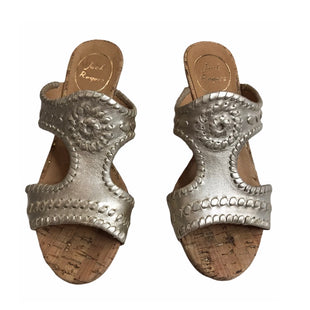 Primary Photo - BRAND: JACK ROGERS STYLE: SANDALS HIGH COLOR: GOLD SIZE: 6 SKU: 299-29929-56832