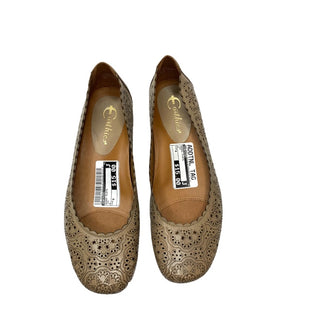Primary Photo - BRAND: EARTHIES STYLE: SHOES FLATS COLOR: TAN SIZE: 8 SKU: 299-29974-554