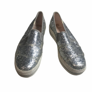 Primary Photo - BRAND: KATE SPADE STYLE: SHOES FLATS COLOR: SILVER SIZE: 8 OTHER INFO: KEDS FOR KATE SPADE SKU: 299-29950-11026