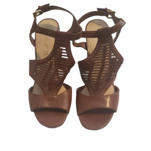 Primary Photo - BRAND: UNISA STYLE: SANDALS HIGH COLOR: BROWN SIZE: 9.5 SKU: 299-29987-605