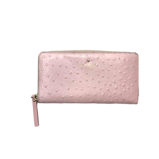 Primary Photo - BRAND: KATE SPADE STYLE: WALLET COLOR: LIGHT PINK SIZE: LARGE SKU: 299-29929-45598•SMALL PEN MARE ON BACKSIDE.