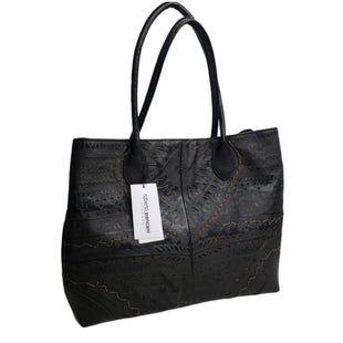 Primary Photo - BRAND:  CMA STYLE: HANDBAG LEATHER COLOR: BLACK SIZE: LARGE OTHER INFO: ROBERTO PANCANI - SKU: 299-29929-57421