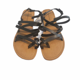 Primary Photo - BRAND: AEROPOSTALE STYLE: SANDALS FLAT COLOR: BLACK SIZE: 8 SKU: 299-29929-60051