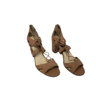 Primary Photo - BRAND: SAM EDELMAN STYLE: SANDALS HIGH COLOR: CAMEL SIZE: 9.5 SKU: 299-29929-57142