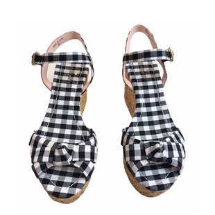 Primary Photo - BRAND: KATE SPADE STYLE: SANDALS HIGH COLOR: CHECKED SIZE: 8 SKU: 299-29929-57232