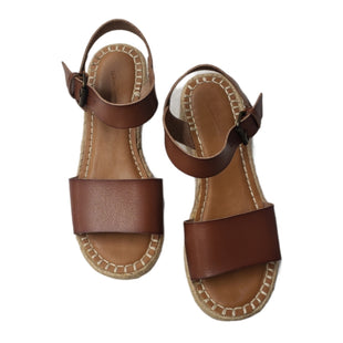 Primary Photo - BRAND: UNIVERSAL THREAD STYLE: SANDALS LOW COLOR: BROWN SIZE: 8 SKU: 299-29950-12344