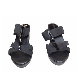 Primary Photo - BRAND: CHARLES BY CHARLES DAVID STYLE: SANDALS LOW COLOR: BLACK SIZE: 9 SKU: 299-29950-10997