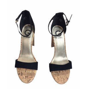 Primary Photo - BRAND: GUESS STYLE: SANDALS HIGH COLOR: BLACK SIZE: 7.5 SKU: 299-29929-57464