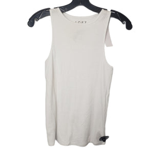 Primary Photo - BRAND: LOFT STYLE: TANK TOP COLOR: WHITE SIZE: S OTHER INFO: NEW WITH TAG SKU: 299-29950-12024