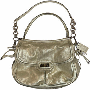 Primary Photo - BRAND: COACH STYLE: HANDBAG DESIGNER COLOR: GOLD SIZE: LARGE SKU: 299-29929-55935