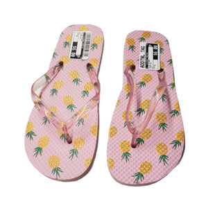 Primary Photo - BRAND:    CLOTHES MENTOR STYLE: FLIP FLOPS COLOR: TROPICAL SIZE: 8 SKU: 299-29929-59734