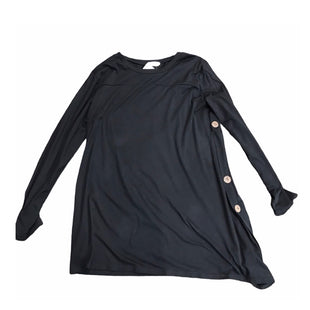 Primary Photo - BRAND:    CLOTHES MENTOR STYLE: TUNIC LONG SLEEVE COLOR: BLACK SIZE: XL OTHER INFO: HALFLIFE - SKU: 299-29929-49595