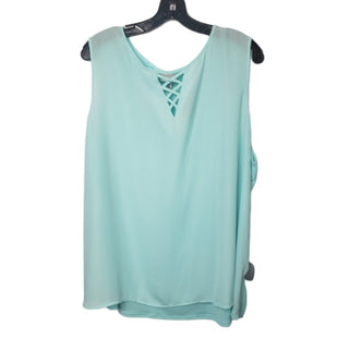 Primary Photo - BRAND: AVENUE STYLE: TOP SLEEVELESS COLOR: AQUA SIZE: 22 OTHER INFO: 22/24 SKU: 299-29929-58678