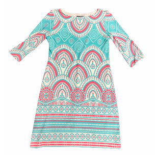Primary Photo - BRAND: JUST TAYLOR STYLE: DRESS SHORT LONG SLEEVE COLOR: MULTI SIZE: 6 SKU: 299-29950-11257