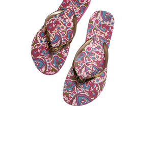 Primary Photo - BRAND: JACK ROGERS STYLE: FLIP FLOPS COLOR: MULTI SIZE: 9 SKU: 299-29950-11619