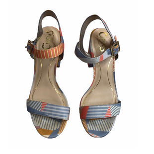 Primary Photo - BRAND: SAM EDELMAN STYLE: SANDALS HIGH COLOR: MULTI SIZE: 7 SKU: 299-29929-56831