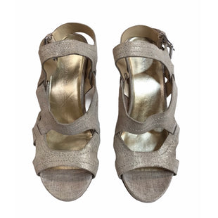 Primary Photo - BRAND: DONALD J PILNER STYLE: SANDALS HIGH COLOR: GOLD SIZE: 9.5 SKU: 299-29987-110