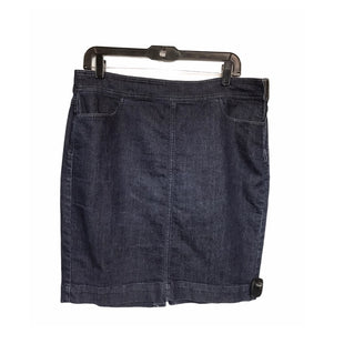 Primary Photo - BRAND: ANN TAYLOR LOFT STYLE: SKIRT COLOR: DENIM SIZE: 12 SKU: 299-29950-11889