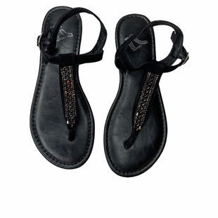 Primary Photo - BRAND: REPORT STYLE: FLIP FLOPS COLOR: BLACK SIZE: 6.5 SKU: 299-29950-8881