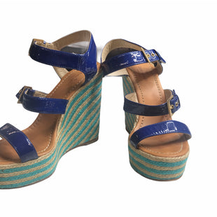 Primary Photo - BRAND: KATE SPADE STYLE: SANDALS HIGH COLOR: ROYAL BLUE SIZE: 8 SKU: 299-29950-11020