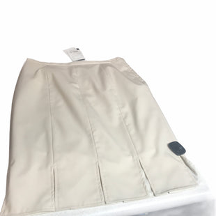 Primary Photo - BRAND: DONCASTER STYLE: SKIRT COLOR: IVORY SIZE: M OTHER INFO: NEW! SKU: 299-29911-25448