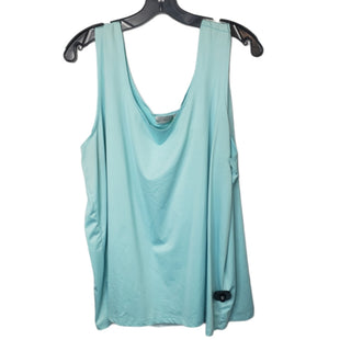 Primary Photo - BRAND: AVENUE STYLE: TOP SLEEVELESS BASIC COLOR: AQUA SIZE: 26 OTHER INFO: 26/28 SKU: 299-29929-58680