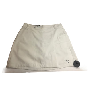 Primary Photo - BRAND: PUMA STYLE: ATHLETIC SKIRT SKORT COLOR: WHITE SIZE: 4 SKU: 299-29929-50619