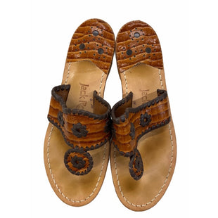Primary Photo - BRAND: JACK ROGERS STYLE: SANDALS FLAT COLOR: BROWN SIZE: 6 SKU: 299-29950-12296