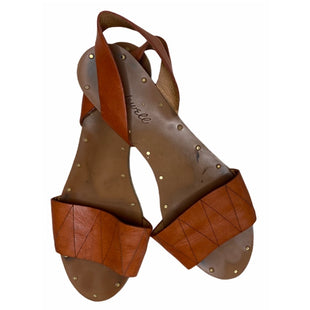 Primary Photo - BRAND: MADEWELL STYLE: SANDALS FLAT COLOR: LEATHER SIZE: 7.5 SKU: 299-29929-55408