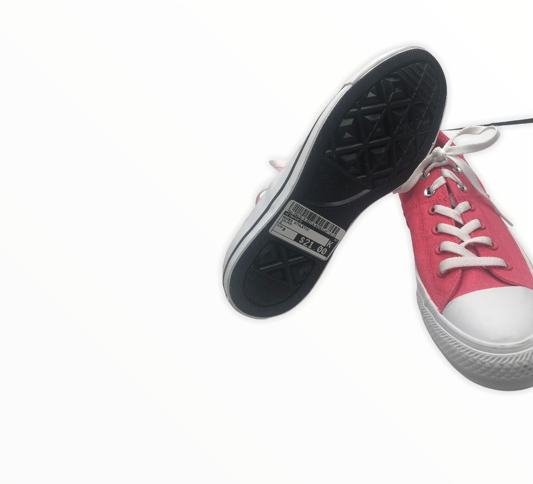 Photo #1 - BRAND: CONVERSE <BR>STYLE: SHOES ATHLETIC <BR>COLOR: SALMON <BR>SIZE: 9 <BR>SKU: 299-29929-51032