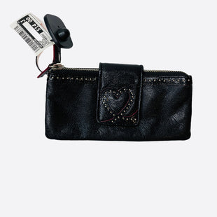 Primary Photo - BRAND: BRIGHTON STYLE: WALLET COLOR: BLACK SIZE: MEDIUM SKU: 299-29929-462417.5 INCHES WIDE 4 INCHES TALL
