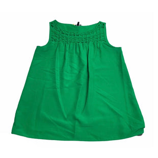 Primary Photo - BRAND: ANN TAYLOR STYLE: TOP SLEEVELESS COLOR: KELLY GREEN SIZE: S SKU: 299-29929-56158