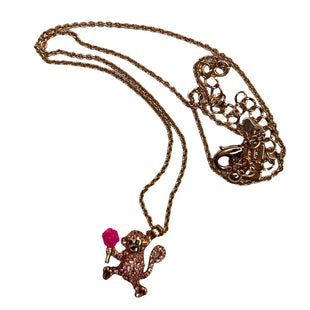 Primary Photo - BRAND: KATE SPADE STYLE: NECKLACE COLOR: ROSE OTHER INFO: MONKEY SKU: 299-29974-1535