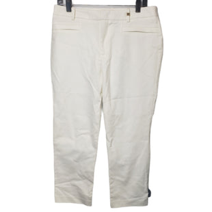 Primary Photo - BRAND: CALVIN KLEIN STYLE: PANTS COLOR: WHITE SIZE: 8 OTHER INFO: NEW WITH TAG SKU: 299-29950-12065