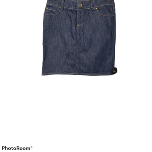 Primary Photo - BRAND: NEW YORK AND CO STYLE: SKIRT COLOR: DENIM SIZE: 4 SKU: 299-29929-57299