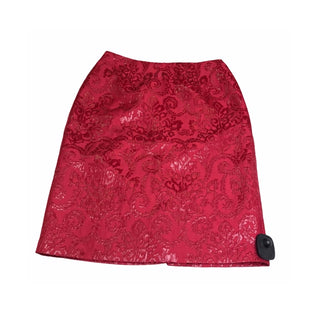 Primary Photo - BRAND: SUNNY LEIGH STYLE: SKIRT COLOR: BURGUNDY SIZE: 2 SKU: 299-29950-8794